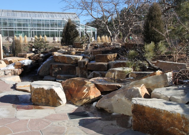 part of the new bonsai pavilion dedicated to the late Bill Hosokawa of the Denver Post